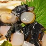 150868076 - シャコ貝の刺身