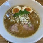麺屋 Smile - 料理写真:鶏白湯SOBA+味玉 800円+100円