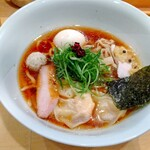 150875583 - 特製醤油そば(手揉み麺) 1,350円 ♪