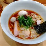 150875599 - 特製醤油そば(手揉み麺) 1,350円 ♪