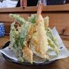 八甲田そば処きこり - 料理写真:天ざるの天ぷら 相変わらず量がハンパない こんなに盛りが良くて600円の計算です。