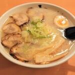 いってつ庵 - 地鶏チャーシュー麺(しお)