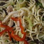 龍口酒家 - 千豆腐と鶏肉の和えもの