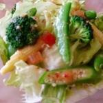 aivie - たっぷり野菜のグリーンサラダ