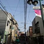 赤丸ベーカリー - 雑司が谷 弦巻通り商友会にあります。