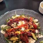 柊山ガーデン - 生鮪のアヒポギハワイ丼