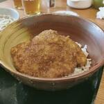 ほたや食堂 - セットのソースカツ丼