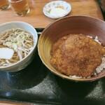 ほたや食堂 - ソースカツ丼うどんセット