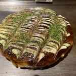 いっかくじゅう - 食サンみたいに綺麗なお好み焼き