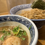 道玄坂 マンモス - 濃厚味玉入つけ麺