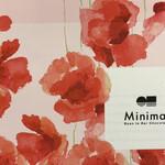 ミニマル  - 可愛いパッケージに入って送られてきました!