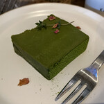 150895223 - 抹茶のテリーヌ(税込 450円)評価=○:チョコの滑らかな美味しさと抹茶の香りが嬉しい