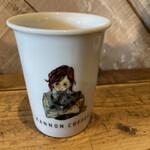 150895231 - ドリップコーヒー(香りと酸味)(税込 470円)評価=○:カップが可愛いです