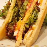 ジャンポール エヴァン 東京ミッドタウン店 - サンドイッチ。