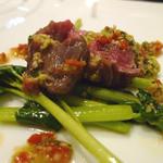 リストランテ ストラーダ - 仔羊とわさび菜