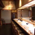 Takeuma - 店内カウンター