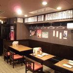 神戸マッスルホルモン - テーブル席もあり、各種ご宴会も受け付けております。お気軽にお問い合わせ下さいませ。