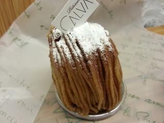 CALVA - モンブラン 430円