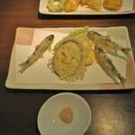 150903202 - 稚鮎の天ぷら