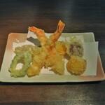 150903297 - 海老天蕎麦の天ぷら