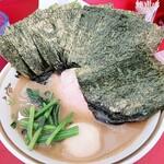 ラーメン濱野家 - 料理写真:ら~めん+味玉+海苔増し