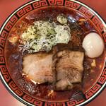中華そば 華丸 - 「マーボー麺」@790+「激辛」@120+「特製」@210