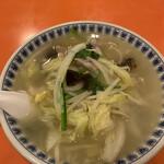 150908745 - 「もやし入り塩ラーメン(香州湯麺)」800円