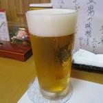 会津 - ドリンク写真:2012.8 生ビール