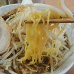 登美屋 - 細い麺