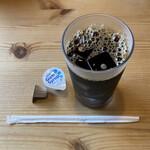 北海道ラーメン 追風丸 - 白味噌ラーメンセットのドリンク(アイスコーヒー)  ¥1,100
