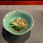 モダン和食 ゆとり - 料理写真:しゃくし菜の肉味噌ミンチ