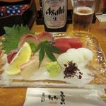寿司竹寅 - お造り 盛り合わせ