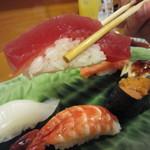 寿司竹寅 - ネタが厚切りです
