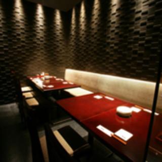 最大35名様の上質な個室。刈谷駅での大人数宴会に!