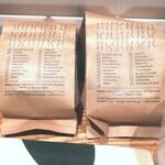 150925099 - 定番コロンビアディカフェと、バリスタさんにおすすめ伺ってペルーのお豆100gずつ購入。バリスタにおすすめ伺って購入するのが、毎回楽しみになっています(^ー^)