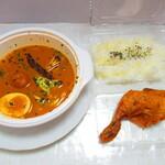 お弁当とスープカレーのお店 BenBen - 揚げチキンスープカレー 1260円(税込)【2021年5月】