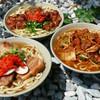 Nahasobanahatei - 料理写真:沖縄そば、元祖とりそば、豚キムチそば