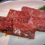 やきやき亭 - 牛ロース肉