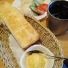 コメダ珈琲店 - 料理写真:モーニングB アイスコーヒー ミニサラダ