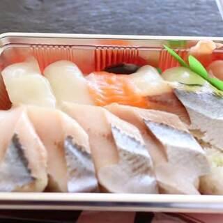 勢登鮨 - 料理写真:握り寿し(550円)