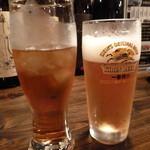 15094170 - 烏龍茶と生ビール