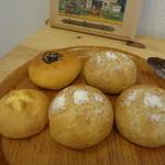 パン工房シュシュ - ふすまのパン、甘食、あんぱん