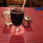 150941521 - 食後のアイスコーヒー。