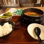 Hamayakikankokuryourihamakan - 納豆ズンドゥフ定食