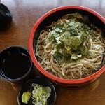 草笛 - 料理写真:ざるそば多め850円