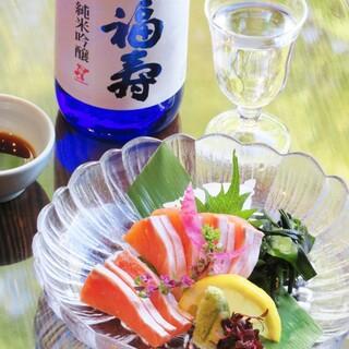 地元の旬の食材で日本酒に合う料理を