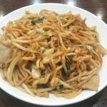 中華成喜 - 料理写真:焼そば(成喜特製太麺)