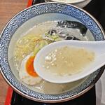 牛たん焼き 仙台辺見 - 牛テールの旨味たっぷりのスープ