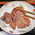 牛たん焼き 仙台辺見 - 厚切りの「上たん」