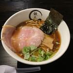 鏡花 - 醤油ラーメン(1,100円)